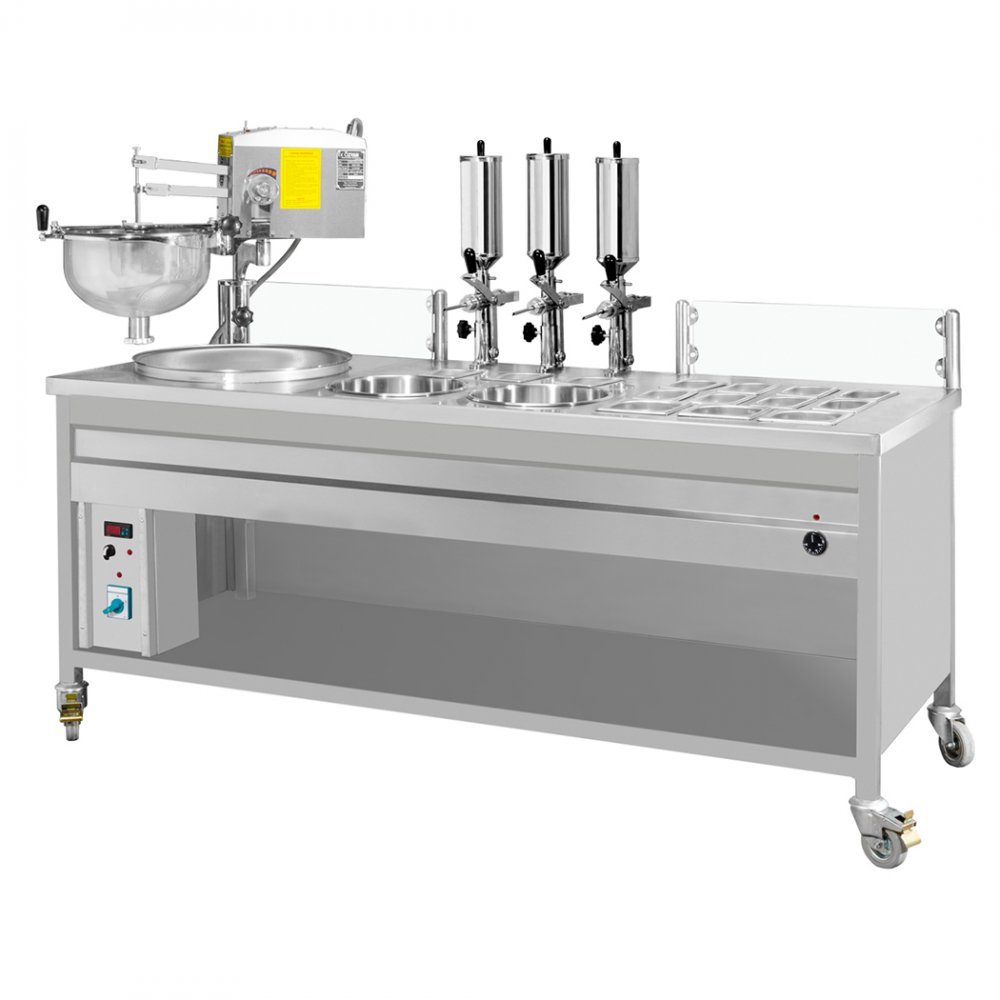 Special Purpose Paste Machine With Chocolate Pump resimi