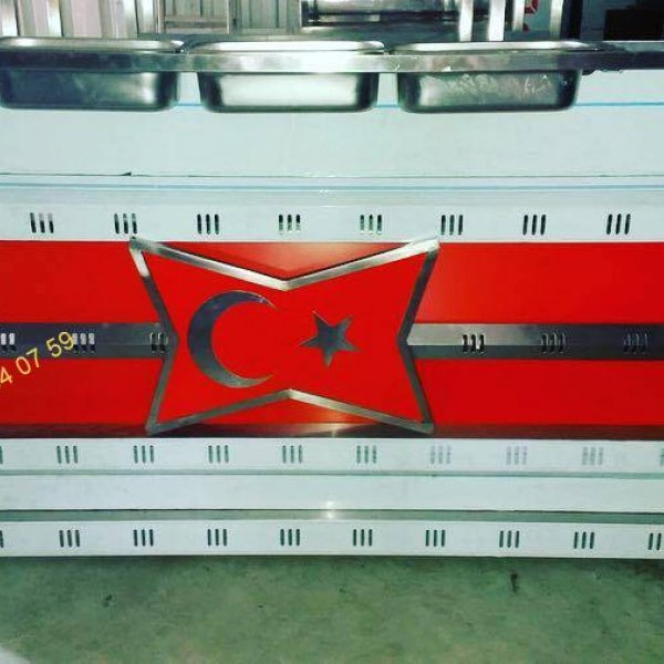 Special Production Turkey Flag Tantuni Machine